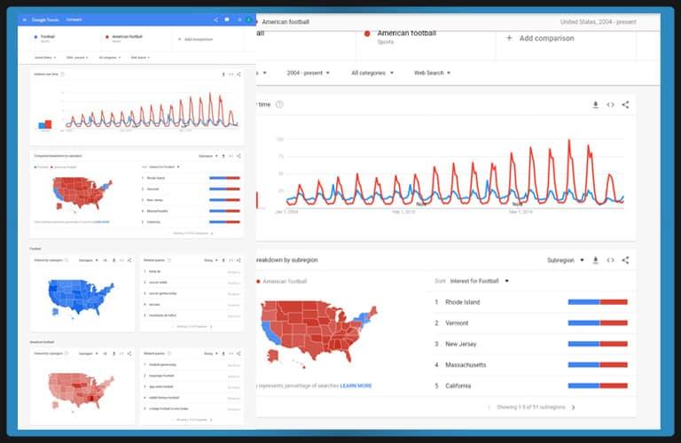 Google Trends   Free SEO Keyword Research Tool